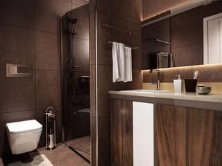 Teknoen Altındağ Konut Modern Banyo VERO CONCEPT MİMARLIK Modern