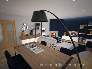 Projeto RO Salas de jantar modernas por Areabranca Moderno
