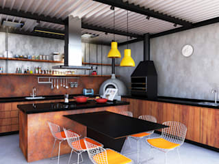 Modern Kitchen by Macro Arquitetos Modern