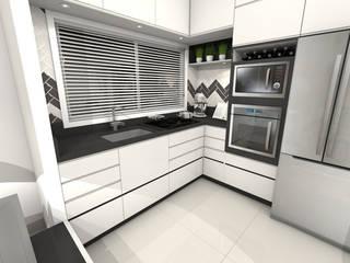 Apartamento Americana/SP Cozinhas modernas por Gustavo Bodini | Designer de Interiores Moderno