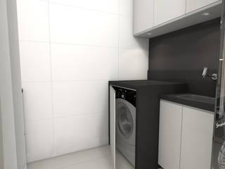 現代廚房設計點子、靈感&圖片 根據 Gustavo Bodini | Designer de Interiores 現代風