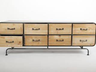La Boutique Paris Living roomCupboards & sideboards Kayu Grey