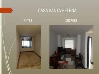 REMODELACION CASA SANTA HELENA BOGOTA:  de estilo  por Erick Becerra Arquitecto