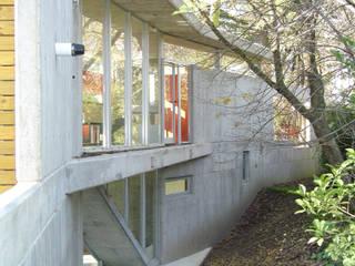 CASA  en C.U.B.A.: Casas de estilo  por MZM | Maletti Zanel Maletti arquitectos