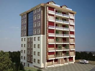 Casas estilo moderno: ideas, arquitectura e imágenes de yağmur mimarlık Moderno