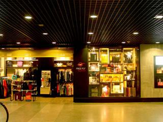Free Fly Express – Aeroporto Internacional de Fortaleza, CE Aeroportos industriais por Oficina da Boa Arquitetura Industrial