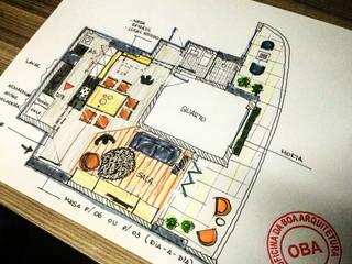Apartamento Portal de León, Fortaleza, Ceará Cozinhas escandinavas por Oficina da Boa Arquitetura Escandinavo
