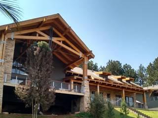 Casa AJ: Casas  por Patricia Abreu arquitetura e design de interiores,