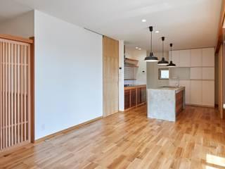 HouseK1: 一級建築士事務所 ima建築設計室が手掛けたキッチンです。,