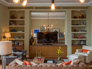 Rio de Janeiro - Casal de Colecionador Salas de estar ecléticas por Jean de Just design de interiores Eclético