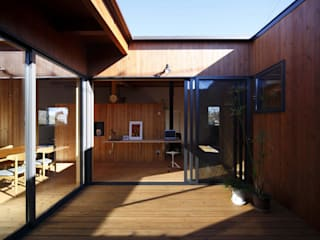 Moderner Garten von 藤井伸介建築設計室 Modern
