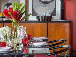 Rio - Apartamento Contemporâneo Salas de jantar ecléticas por Jean de Just design de interiores Eclético