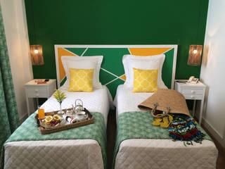 Rio de Janeiro - Hotel Copacabana - Hotéis tropicais por Jean de Just design de interiores Tropical