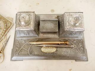 Maisondora Vintage Living BureauAccessoires & décorations Métal Métallisé / Argent