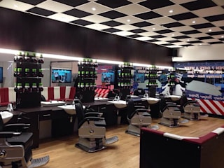 Ali Barbers: modern  by Window Shading Systems Ltd, Modern
