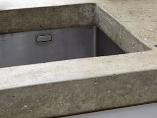 Cooks Kitchen Fraher and Findlay Modern kitchen Concrete Grey