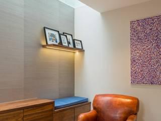 The Sunken Room Fraher and Findlay Modern living room Wood Grey