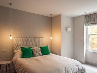 The Sunken Room Fraher and Findlay Modern style bedroom Grey