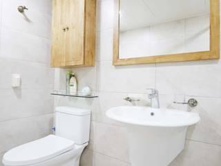 신성미소지움아파트: DESIGNSTUDIO LIM_디자인스튜디오 림의  욕실
