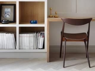 Lambeth Marsh House Fraher and Findlay Minimalist study/office