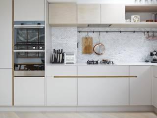 Lambeth Marsh House Fraher and Findlay Modern kitchen