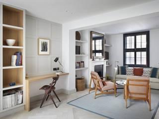 Lambeth Marsh House Fraher and Findlay Modern living room