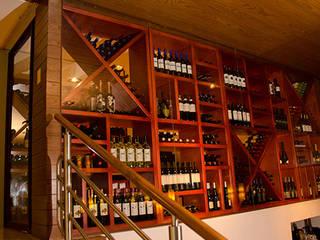 Restaurants de style  par FRACTAL CORP Arquitectura,