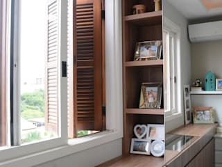 Apartamento Assunção I: Quartos  por AZ Arquitetura,Moderno