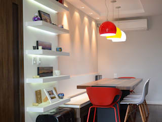 Comedores de estilo  por AZ Arquitetura