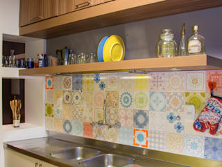 Retrofit Apartamento Bordini AZ Arquitetura Cozinhas modernas