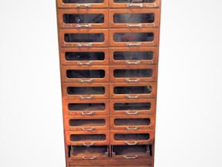 Haberdashery Cabinet od Travers Antiques Industrialny