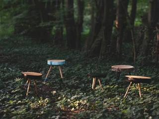 Stoliki naturalne Studio Minimal: styl , w kategorii  zaprojektowany przez Studio Minimal Meble