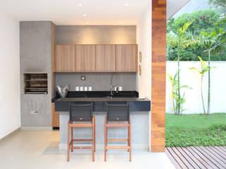 Casas de estilo  de Adriana Leal Interiores, Moderno Madera Acabado en madera