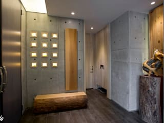 心靈會館:  走廊 & 玄關 by Zendo 深度空間設計,