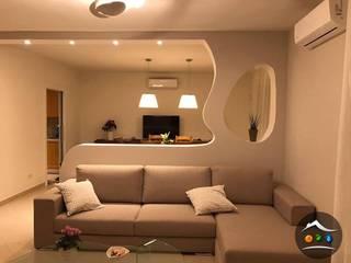 玄關、走廊與階梯 by Cartongesso Design