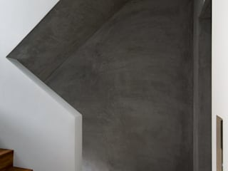 何宅 House H:  走廊 & 玄關 by  何侯設計   Ho + Hou Studio Architects