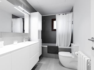 Baños modernos de Sebastián Bayona Bayeltecnics Design Moderno