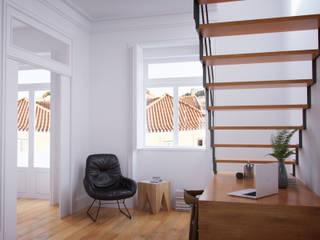 Living room by ASVS Arquitectos Associados, Modern