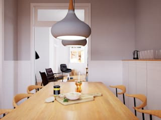 Kitchen by ASVS Arquitectos Associados, Modern