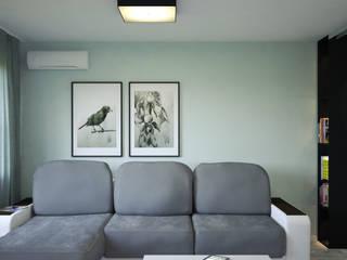 Проект № 25 ул.Народная Гостиная в стиле минимализм от DS the Universe Минимализм