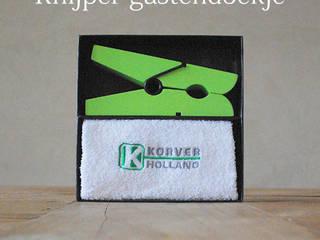 Cadeaudoos Peg & Towel:   door Knijpertjes.nl