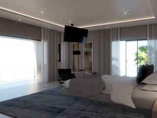 Dormitorios de estilo moderno de Principia Design Moderno
