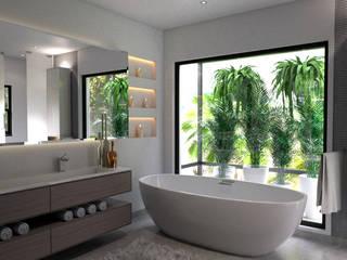 Moderne badkamers van Principia Design Modern