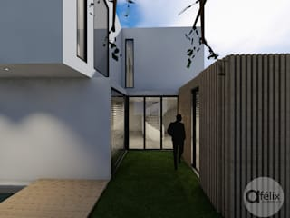 Modern Houses by a.felixarquitectura Modern