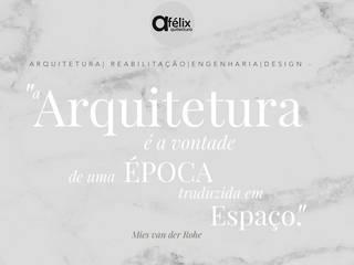 Atelier Casas minimalistas por a.felixarquitectura Minimalista