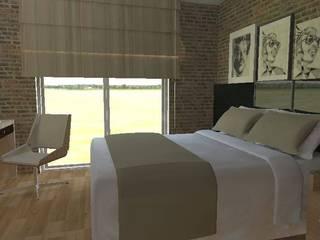 Phòng ngủ phong cách hiện đại bởi Thaís Loureiro Hiện đại