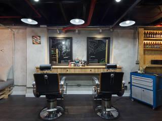 Barberia Torrent Espaços comerciais industriais por Daniel Carvalho Arquiteto Industrial