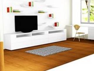 RENDER ESTUDIO:  de estilo  por ARENO Diseño de espacios