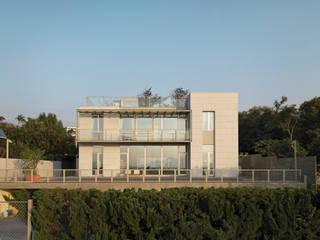 Maisons de style  par  何侯設計   Ho + Hou Studio Architects , Moderne