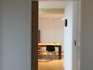 평창리주택#2 모던스타일 다이닝 룸 by 건축사사무소 리임 모던